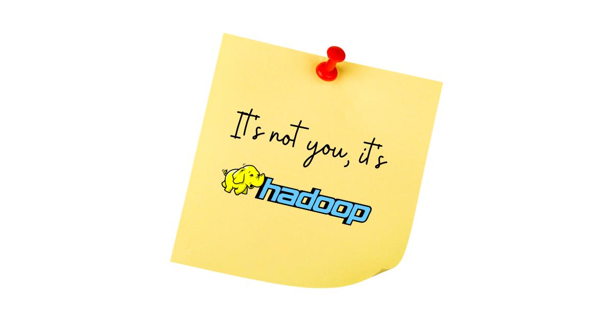 Hadoop Break Up Note