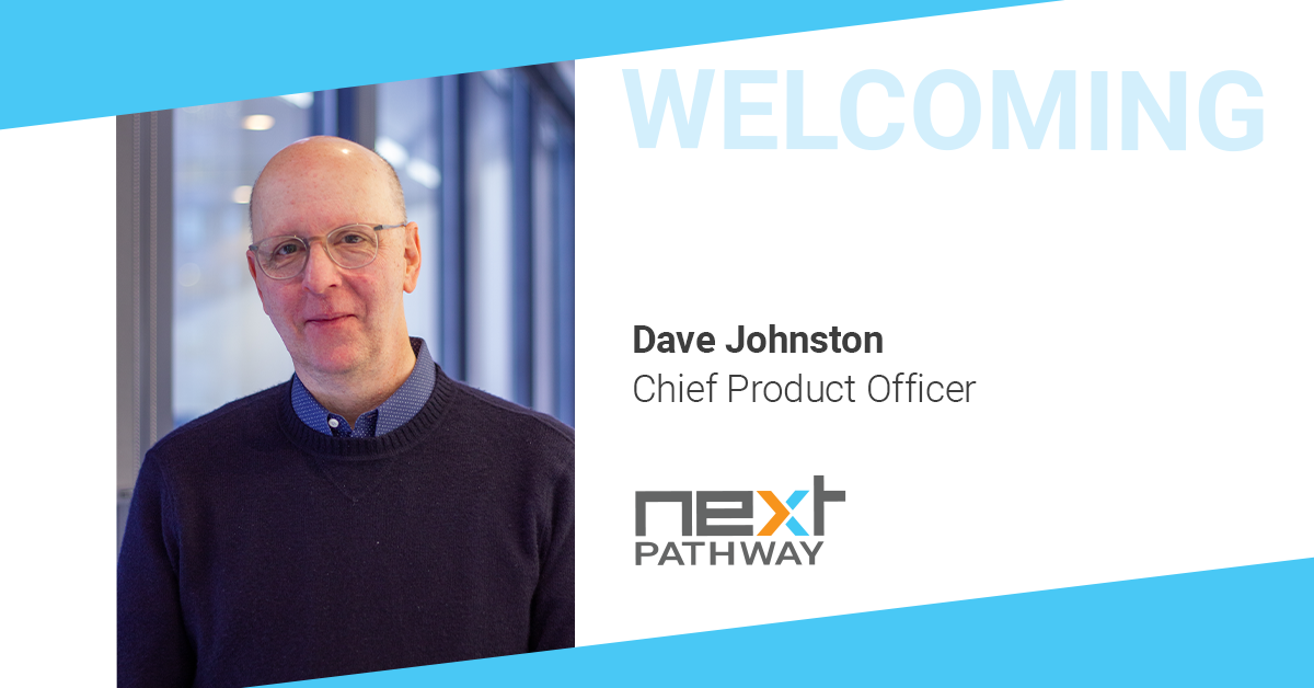 Next Pathway announces Dave Johnston as Chief Product Officer